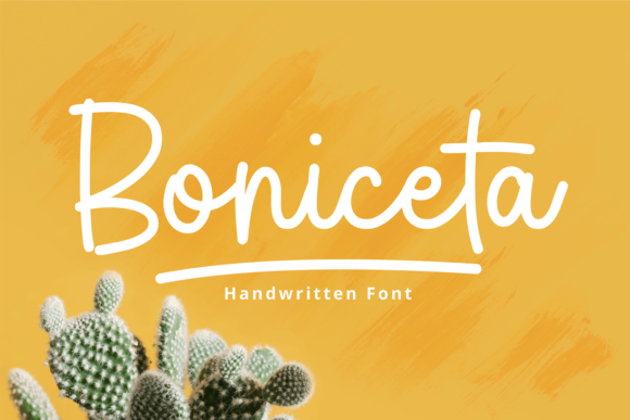 Download Free Boniceta Font By Brithostype Creative Fabrica for Cricut Explore, Silhouette and other cutting machines.
