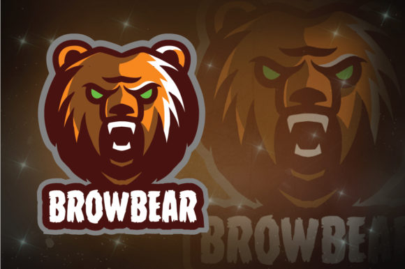 Download Free Brow Bear E Sport Logo Graphic By Remarena Creative Fabrica for Cricut Explore, Silhouette and other cutting machines.