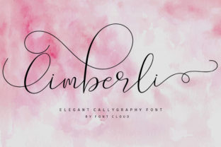 Print on Demand: Cimberli Script & Handwritten Font By FontCloud