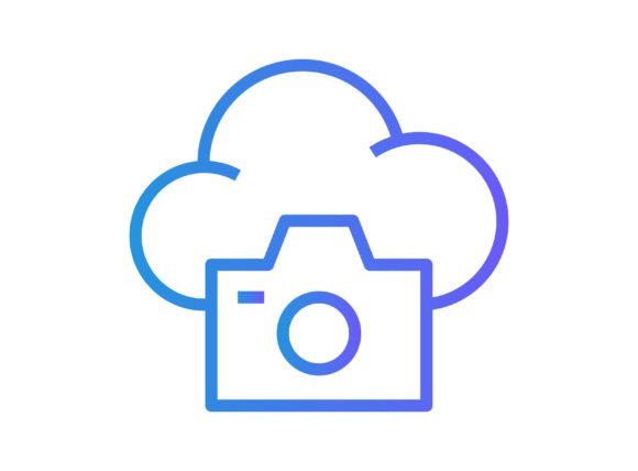 Download Free Cloud Camera Graphic By Re Stock Creative Fabrica for Cricut Explore, Silhouette and other cutting machines.