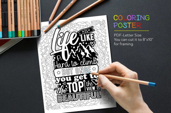 Download Free Coloring Relax Page Graphic By Danieladoychinovashop Creative SVG Cut Files