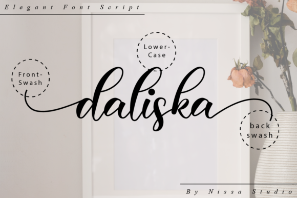 Print on Demand: Daliska Script & Handwritten Font By NissaStudio - Image 10