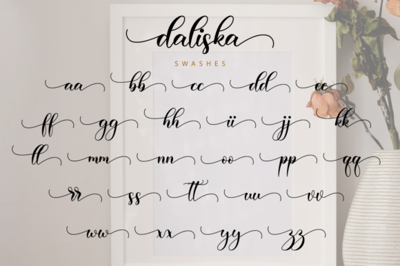 Print on Demand: Daliska Script & Handwritten Font By NissaStudio - Image 12