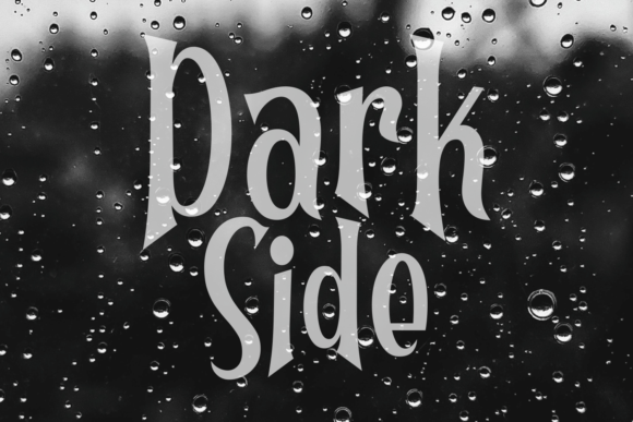 Print on Demand: Darkly Display Font By Dani (7NTypes) - Image 4