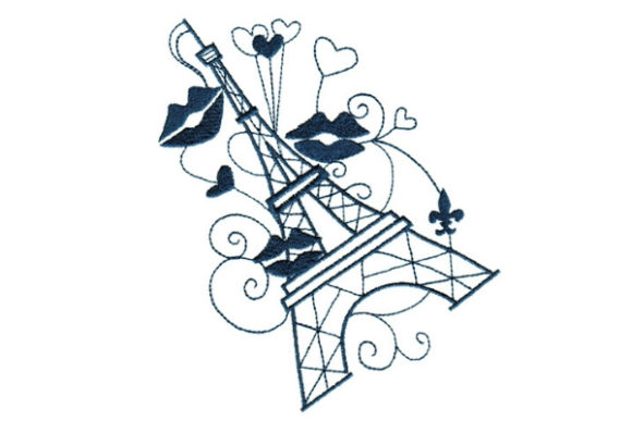 Enchanted Paris Europe Embroidery Design By Sookie Sews
