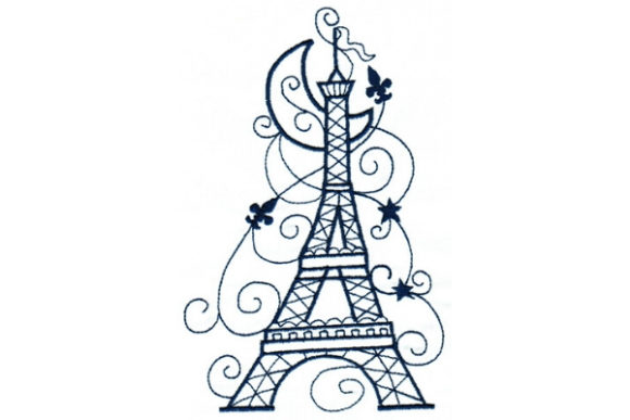 Enchanted Paris Embroidery