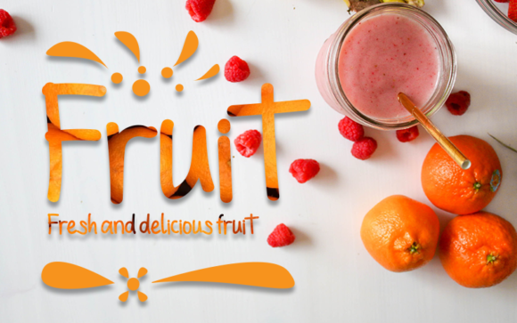 Print on Demand: Fruit Display Font By Inermedia STUDIO