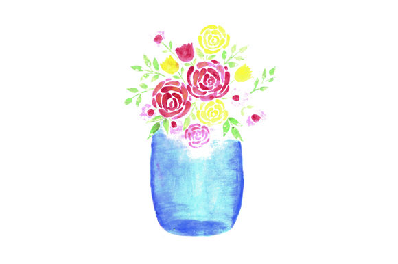 Download Free 6 Mason Jar Designs Graphics for Cricut Explore, Silhouette and other cutting machines.