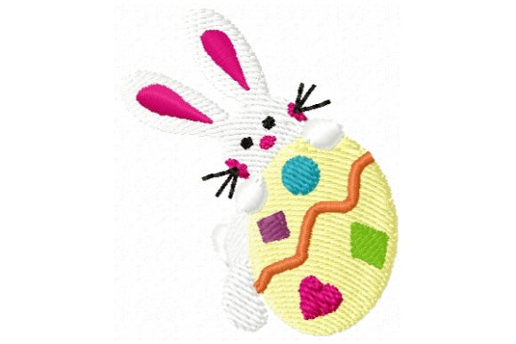 Happy Easter Bunny Easter Embroidery Design By Sookie Sews