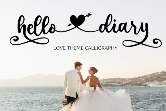 Print on Demand: Hello Diary Script & Handwritten Font By Girinesia