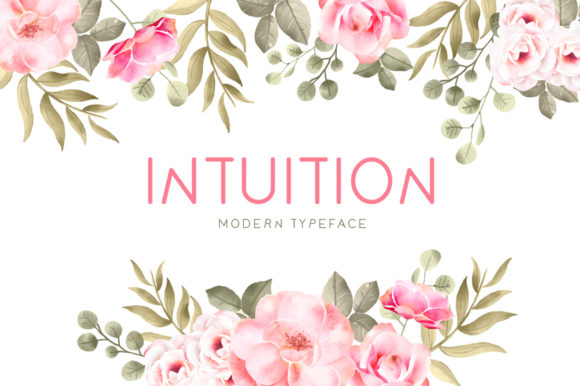 Print on Demand: Intuition Display Font By Seemly Fonts