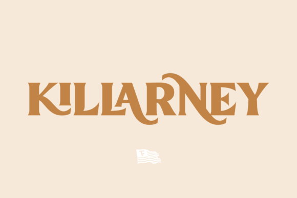 Print on Demand: Killarney Display Font By Fontdation