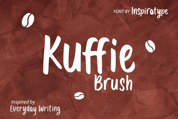 Print on Demand: Kuffie Display Font By InspiraType