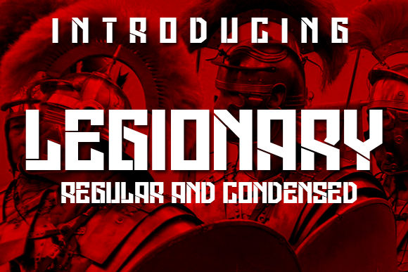 Print on Demand: Legionary Display Font By vladimirnikolic