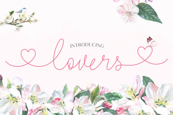 Print on Demand: Lovers Script & Handwritten Font By Salt & Pepper Designs