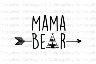 Mama Bear Blessed Mama Graphic By Cutfilesgallery Creative