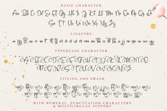 Print on Demand: Millena Script & Handwritten Font By thomasaradea - Image 10
