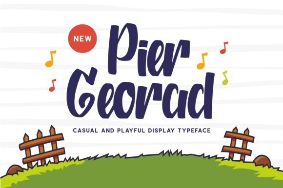 Print on Demand: Pier Georad Display Font By Fype Co.