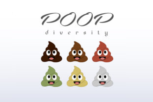 Poop Diversity Graphic Illustrations By shawlin