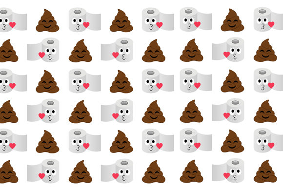 Poop Toilet Tissue Background Graphic Backgrounds By shawlin