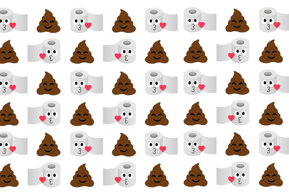 Poop Toilet Tissue Background Graphic By Shawlin Creative Fabrica
