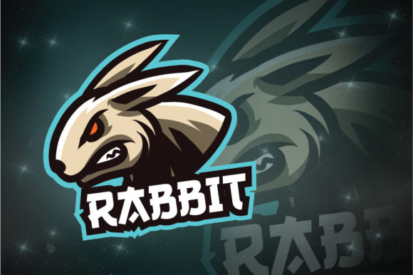 Download Free Rabbit E Sport Logo Graphic By Remarena Creative Fabrica for Cricut Explore, Silhouette and other cutting machines.