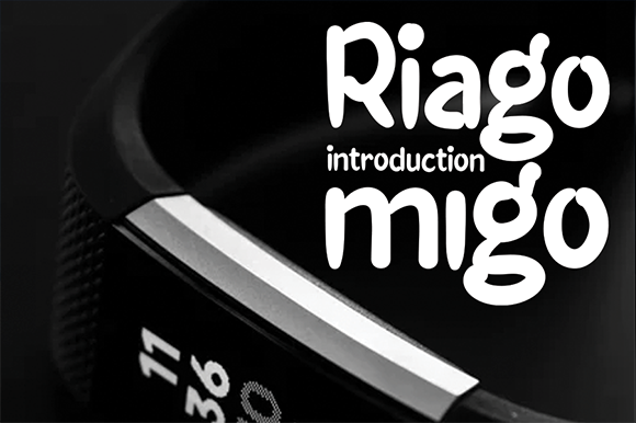 Print on Demand: Riago Migo Display Font By andikastudio