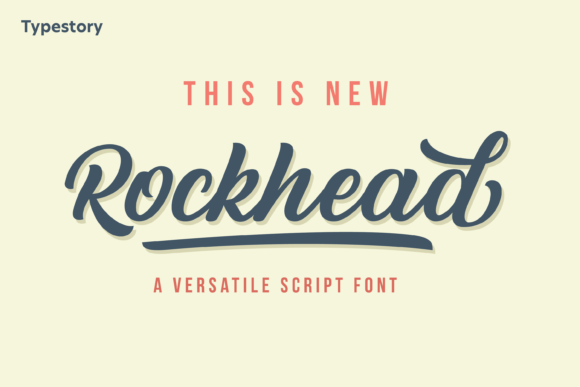 Print on Demand: Rockhead Script & Handwritten Font By Typestory