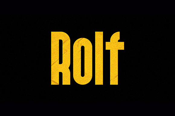Print on Demand: Rolf Sans Serif Font By MysticalType
