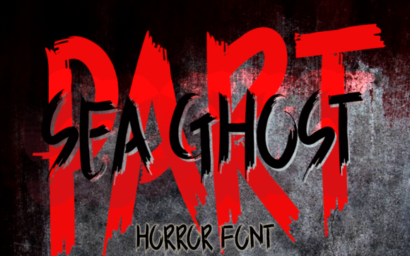 Download Free Sea Ghost Font By Inermedia Studio Creative Fabrica for Cricut Explore, Silhouette and other cutting machines.
