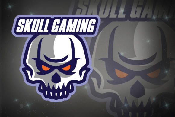 Download Free Skull Gaming E Sport Logo Graphic By Remarena Creative Fabrica for Cricut Explore, Silhouette and other cutting machines.