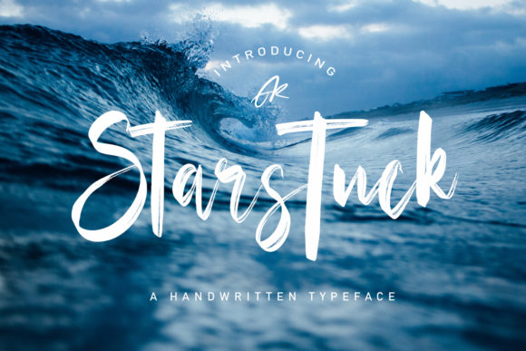 Print on Demand: Starstuck Script & Handwritten Font By Arendxstudio