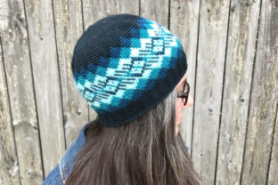 Waves of Plaid Crochet Beanie Pattern Graphic Crochet Patterns By Knit and Crochet Ever After