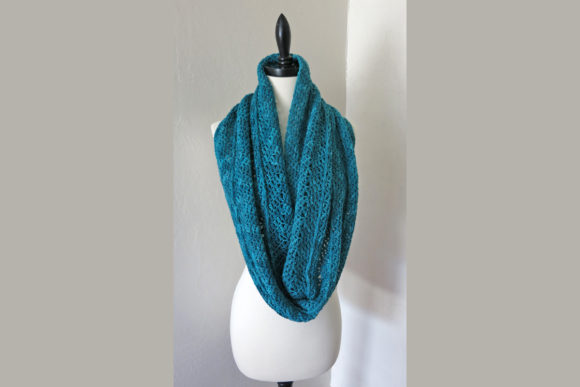 Winter Wrap Infinity Scarf Pattern Graphic