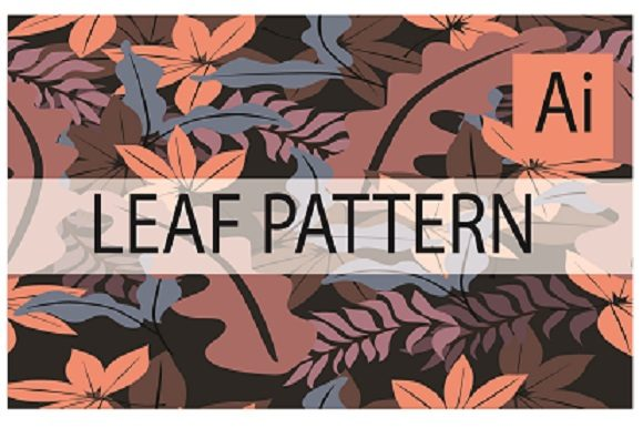 Leaf Pattern Design Graphic Patterns By ahmaddesign99