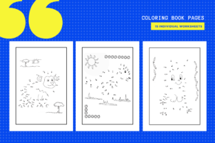 Print on Demand: 15 Dot to Dot Animal Worksheets Graphic Teaching Materials By MarinovaDesigns