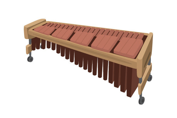 Marimba Music Craft Cut File By Creative Fabrica Crafts