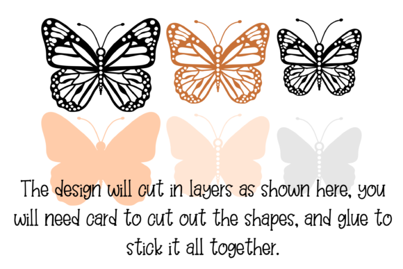 3d Butterfly Design Graphic 3D SVG By Digital Gems - Image 3