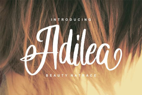Print on Demand: Adilea Script & Handwritten Font By Vunira