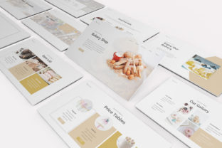Bakery Powerpoint Template Graphic Presentation Templates By formatikastd