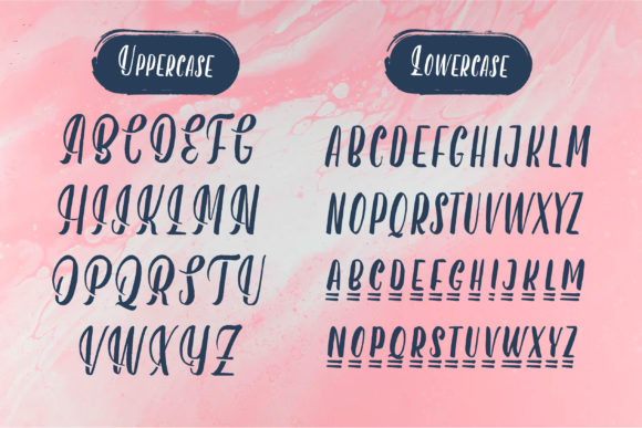 Berryspickers Font Preview