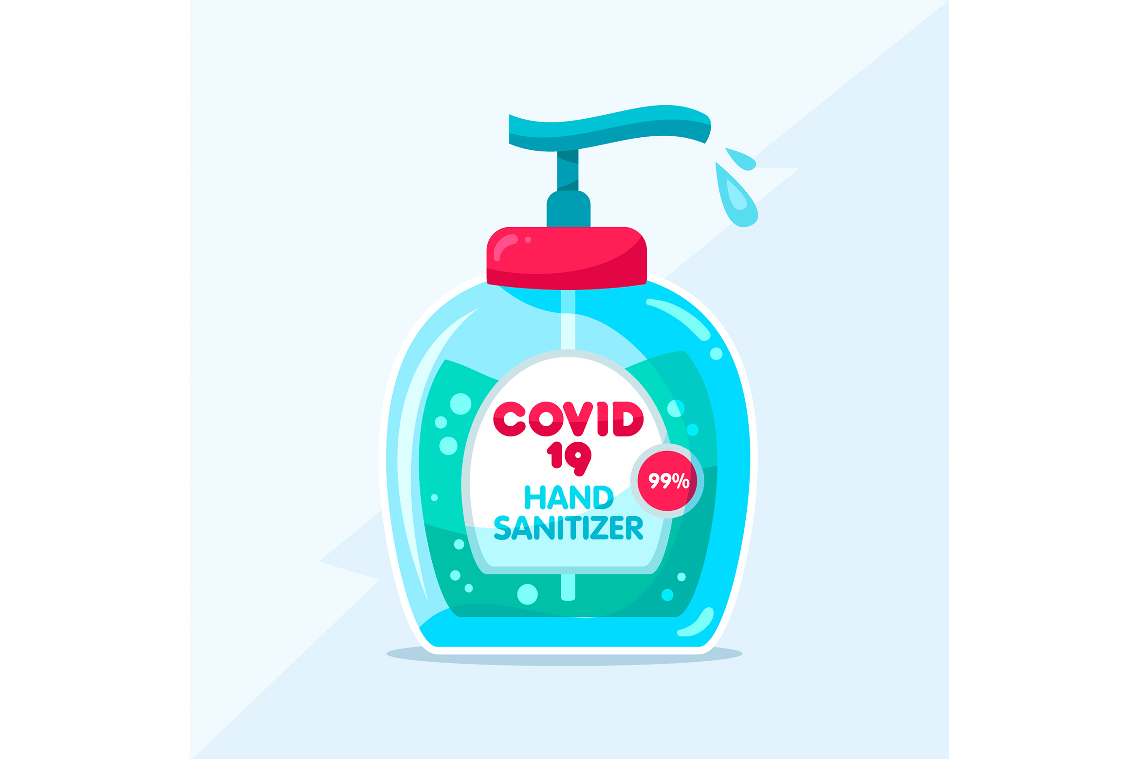 Download Free Covid19 Hand Sanitizer Graphic By Miss Chatz Creative Fabrica PSD Mockup Template