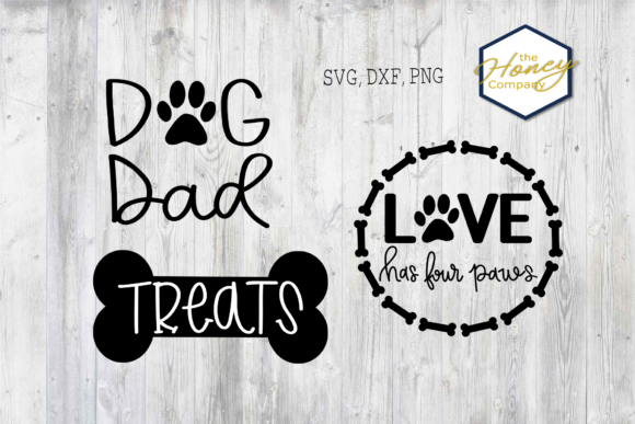 Download Free Dog Bundle Rescue Mom Dad Graphic By The Honey Company SVG Cut Files