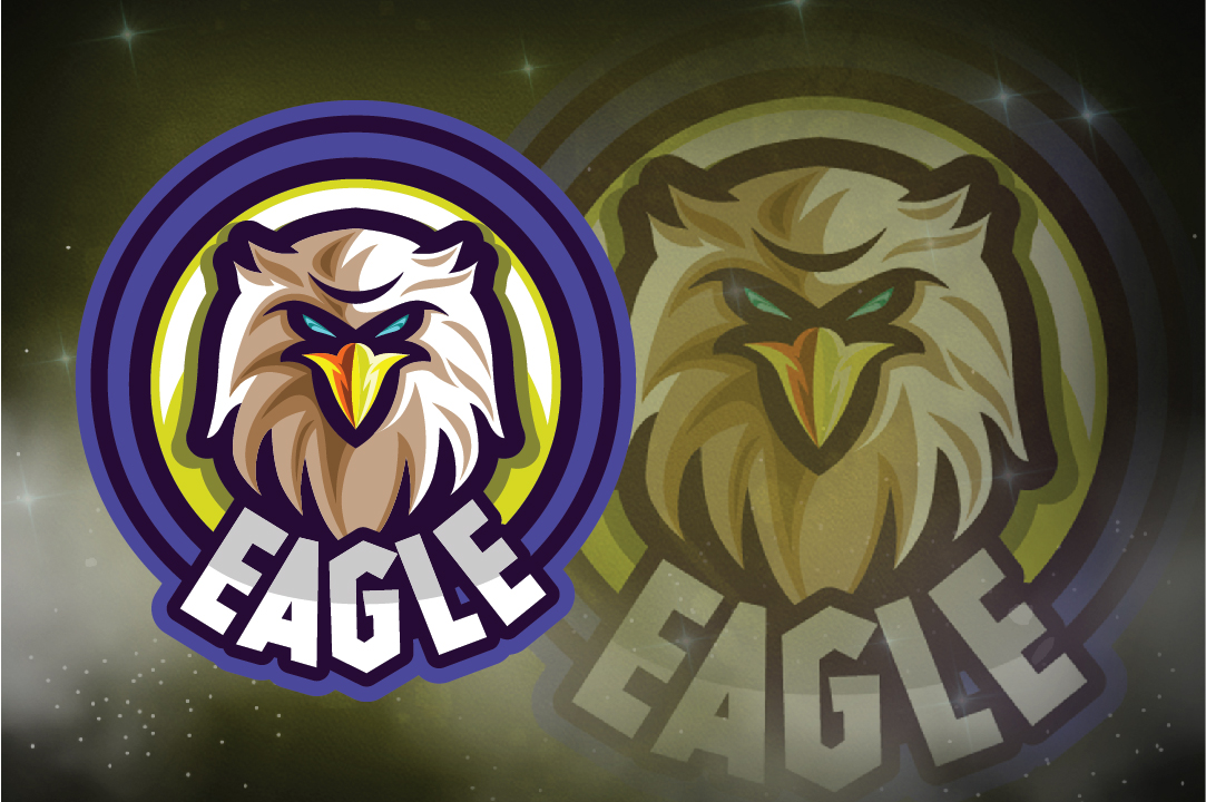 Download Free Eagle E Sport Logo Graphic By Remarena Creative Fabrica for Cricut Explore, Silhouette and other cutting machines.