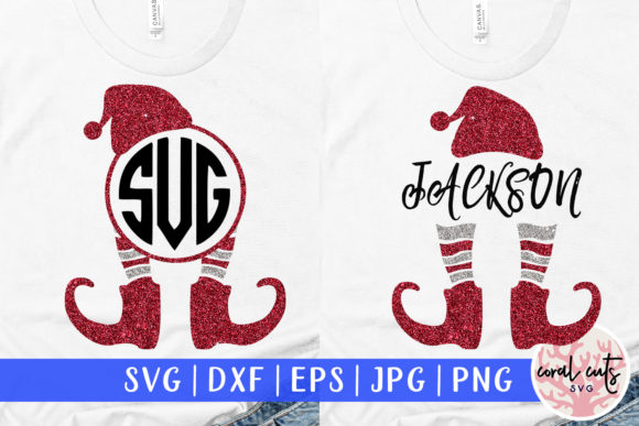 Download Free 3 Christmas Elf Svg Designs Graphics SVG Cut Files