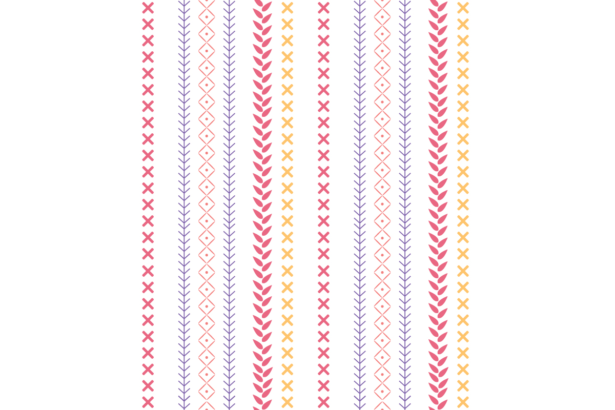 Download Free Embroidered Design Pattern For Wall Home Graphic By Stockfloral for Cricut Explore, Silhouette and other cutting machines.