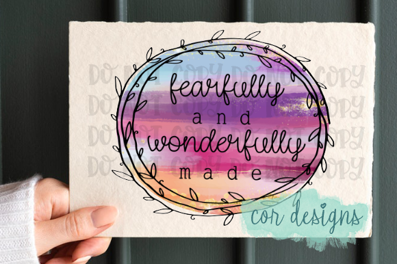 Print on Demand: Fearfully and Wonderfully Made Graphic Crafts By designscor