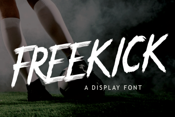 Print on Demand: Freekick Display Font By Girinesia