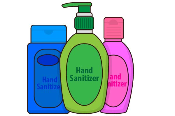Download Free Hand Sanitizer Graphic By Studioisamu Creative Fabrica PSD Mockup Template