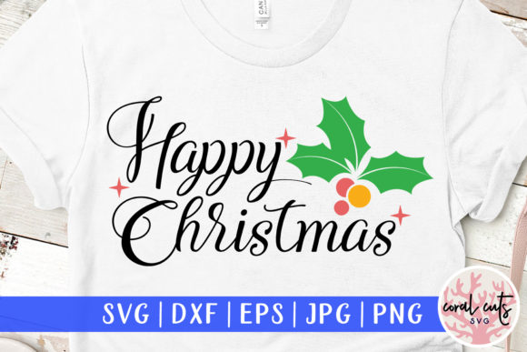 1 Happy Christmas Svg Designs Graphics